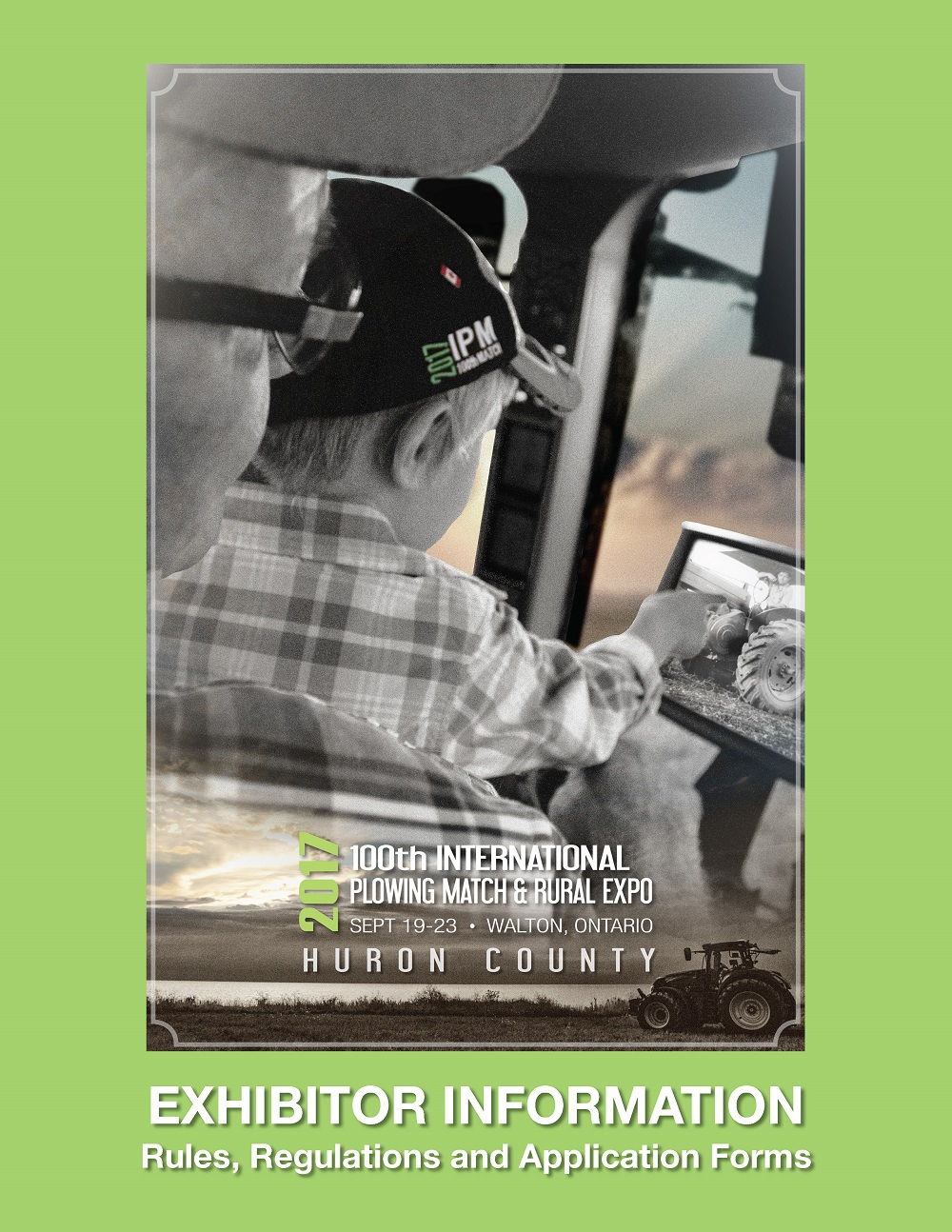 IPM 2017 Exhibitor Information Handbook Cover Image