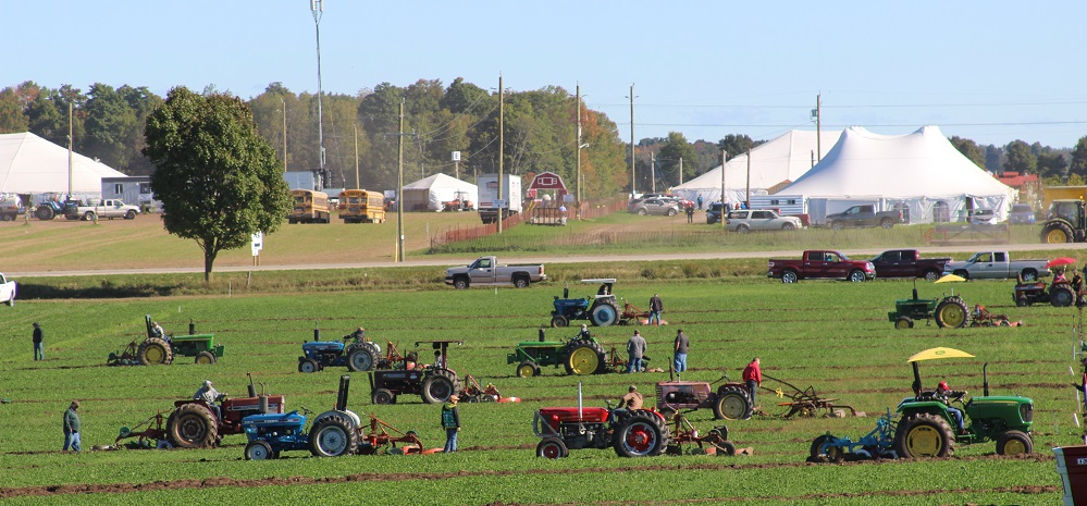 Junior Plowing Competitors from IPM 2016