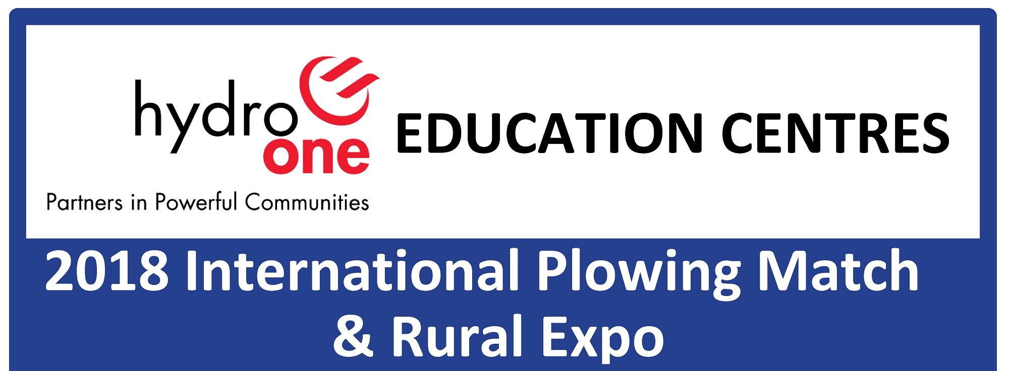 IPM 2018 - Hydro One Education Centres Banner