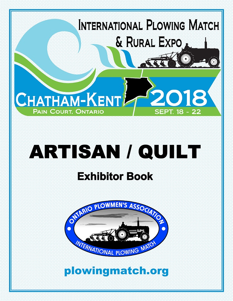 Cover of Artisan Quilt Exhibitor Book