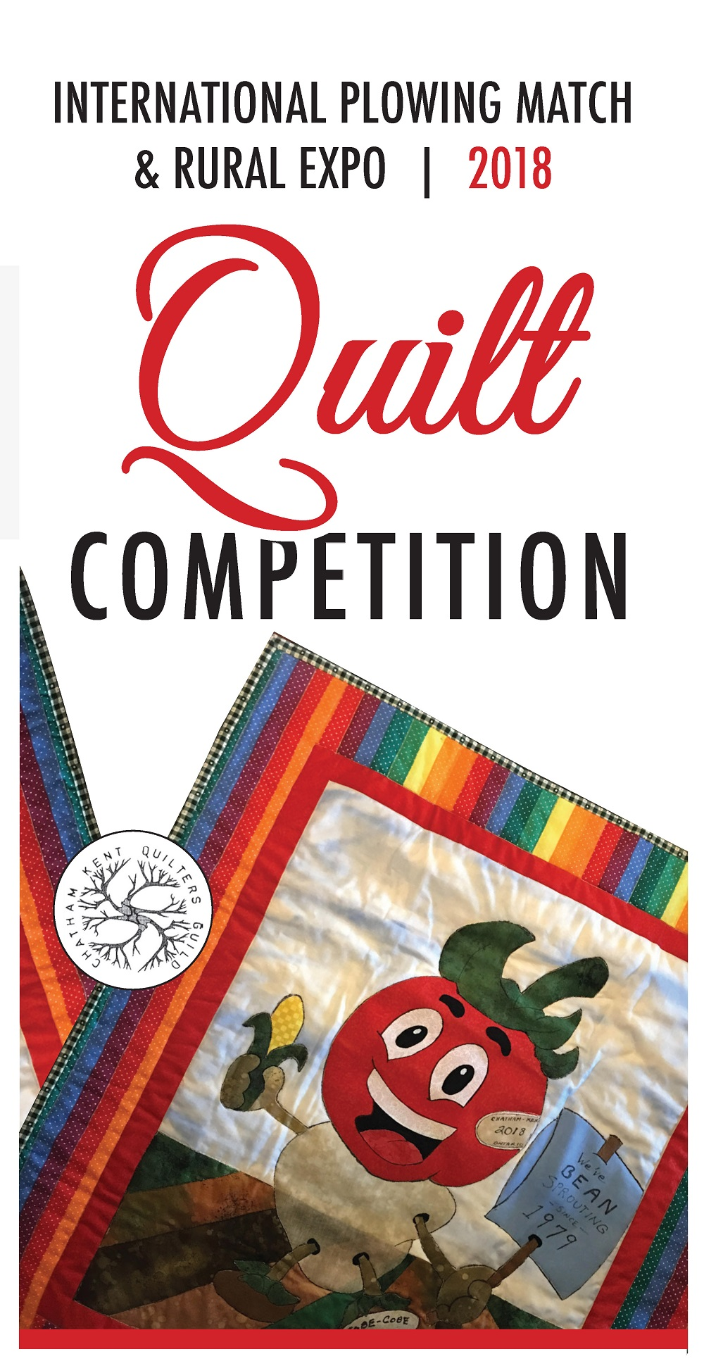 Quilt Competition Brochure Cover