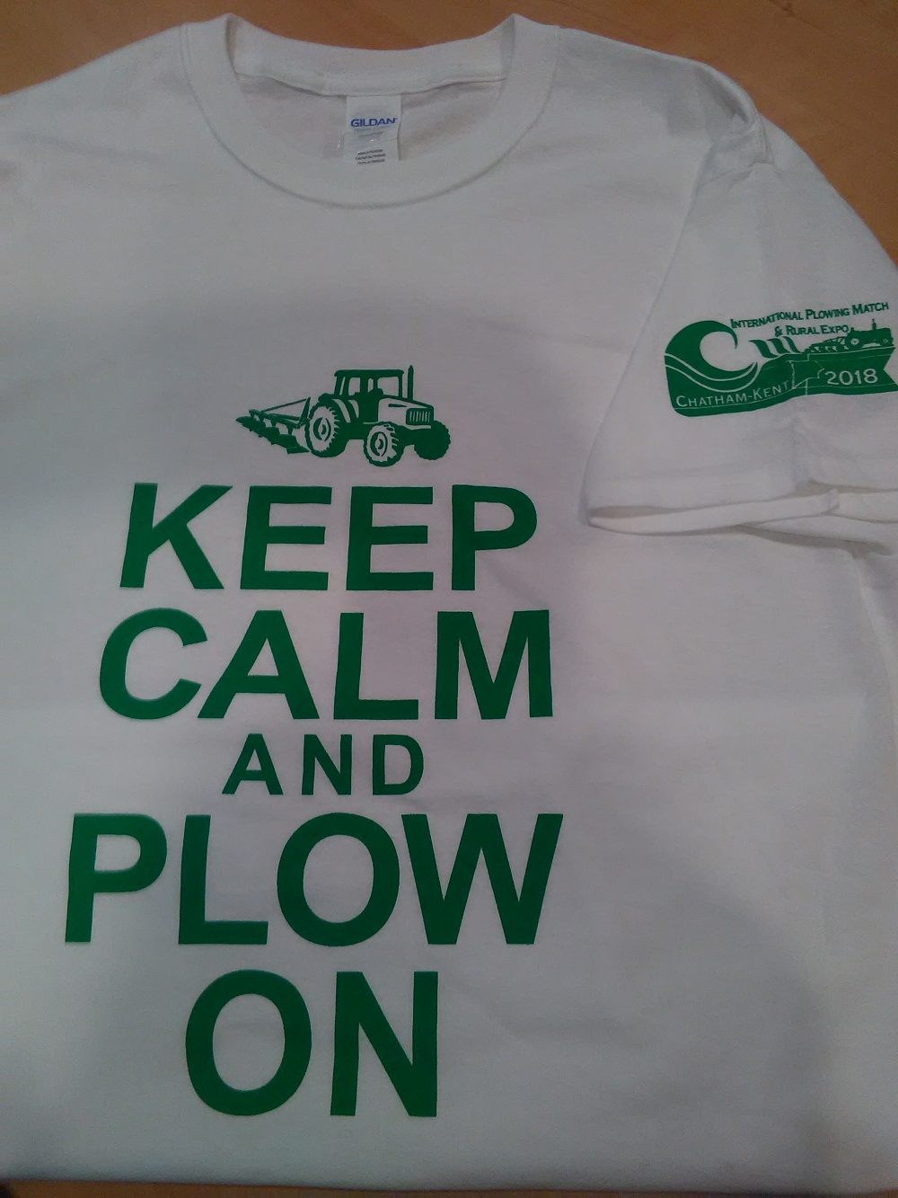 Keep Calm and Plow On T-shirt - 2