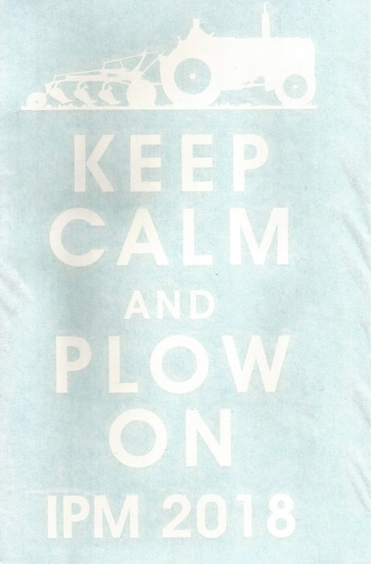 Window Decal - Keep Calm and Plow On