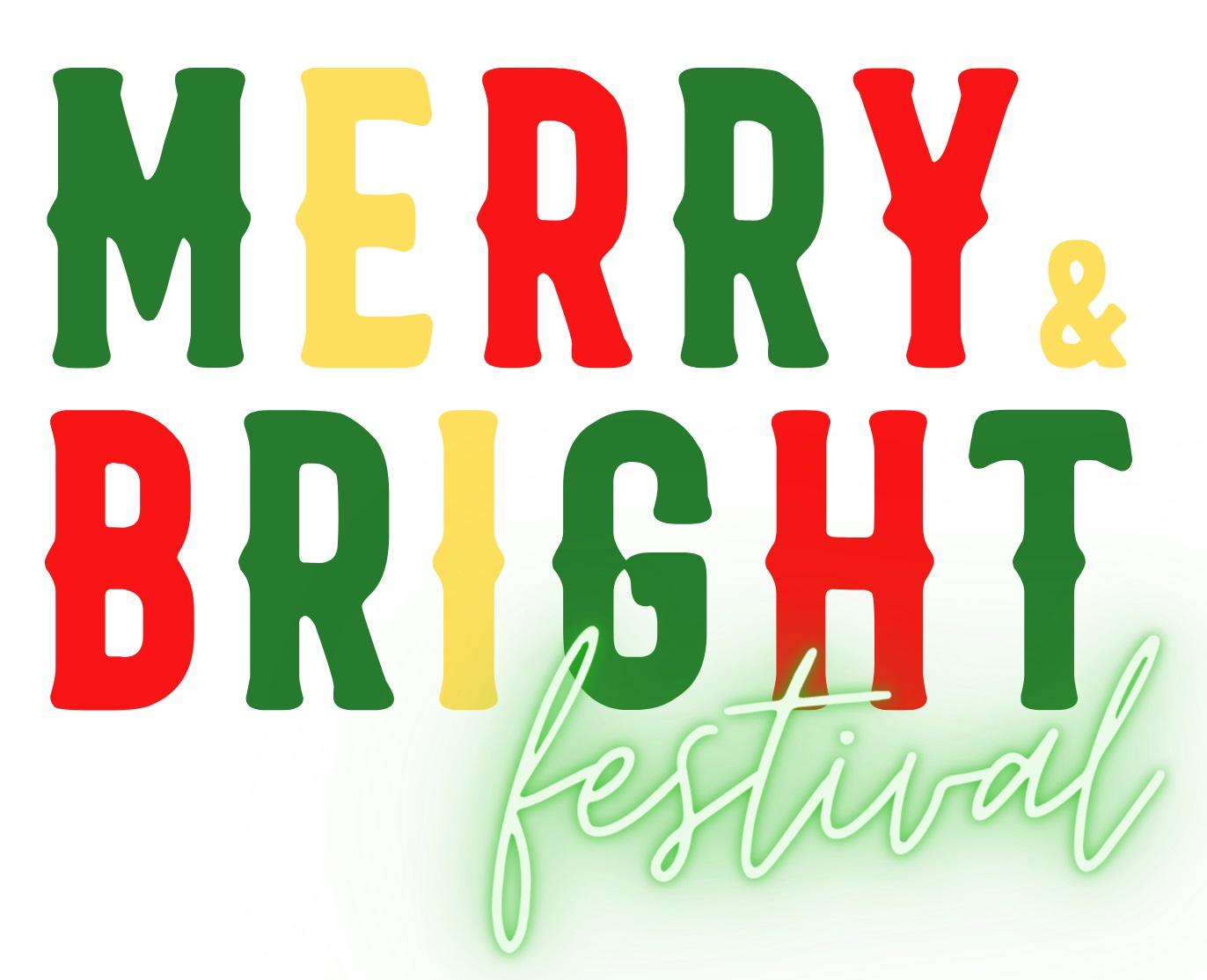 Merry and Bright Festival Logo