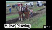 2012 Horse Plowing Video