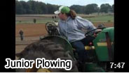 2012 Junior Plowing Video