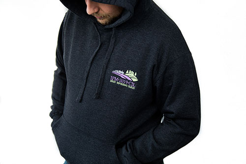 Adult Hooded French Terry Heather
