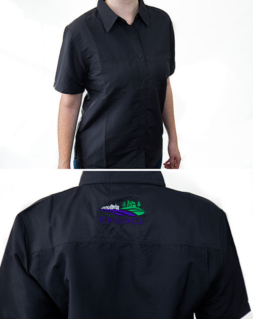 Ladies Button Safari Shirt
