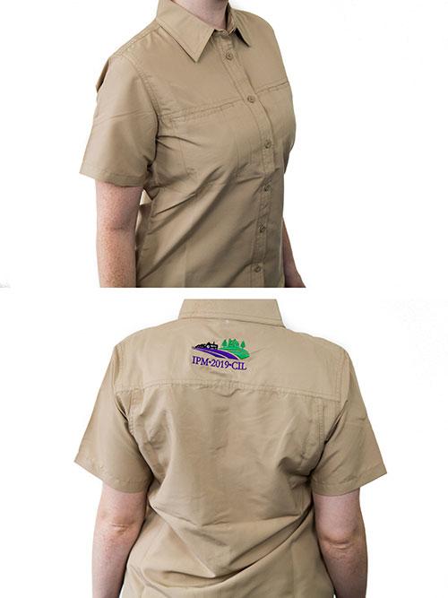 chemise safari pour hommes et femmes