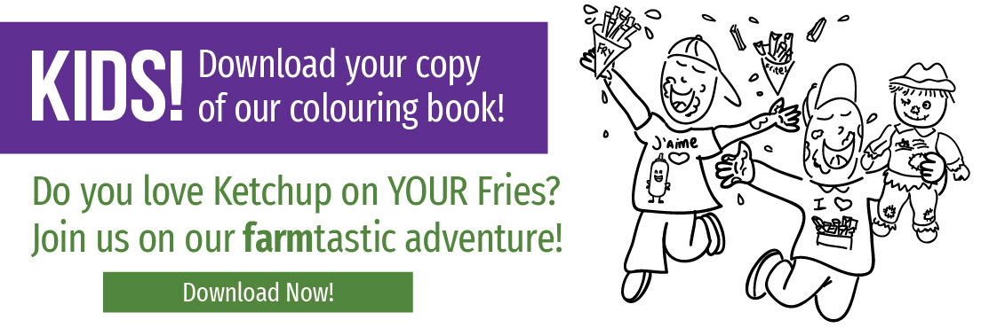 Kids! Download your copy of our colouring book!